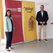 Momento de la presentación de la formación con 'Málaga de Moda' y ESESA