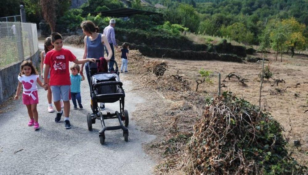Osmo, a primeira aldea modelo de Ourense