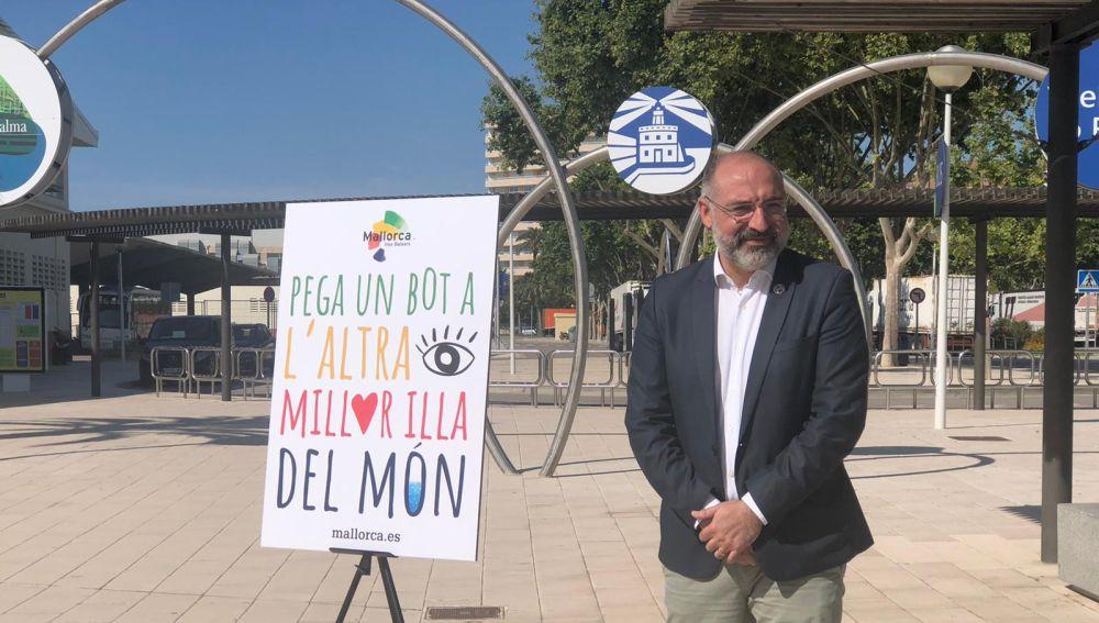 El conseller de Turismo en el Consell de Mallorca, Andreu Serra