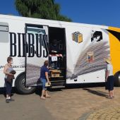 Los Bibliobuses de Palencia retoman la actividad tras el parón por el coronavirus