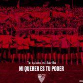 Una de las imágenes del video del Sevilla F.C.