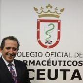 Mario de Miguel, presidente farmacéuticos Ceuta.