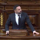 """Santiago Abascal: """"Decir 'Viva el 8 de marzo' es como decir 'Viva la enfermedad y la muerte'"""""""