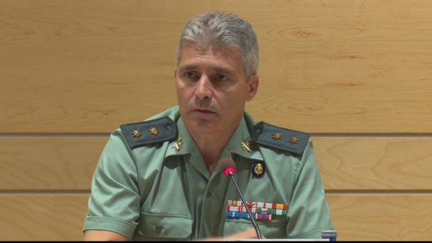 El teniente coronel David Blanes González ha sido nombrado jefe de la Guardia Civil en Madrid en sustitución de Diego Pérez de los Cobos,