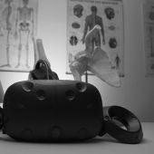 Gafas de realidad virtual en consulta