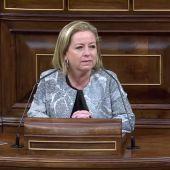 """Ana Oramas reprocha a los políticos la crispación: """"Me avergüenzo y me dan ganas de llorar"""""""