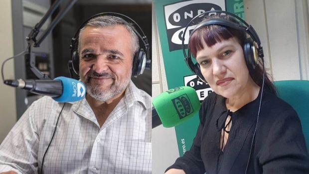 Raúl Puchol y Lorena Pardo.