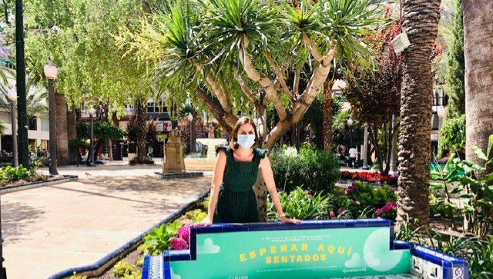 Esther Díez, concejala de Movilidad Urbana y Medio Ambiente en Elche.