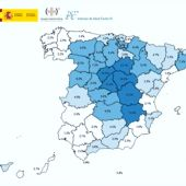 Mapa de la segunda etapa del estudio de seroprevalencia