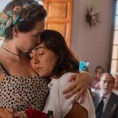 Fotograma de 'La boda de Rosa', película de Icíar Bollaín protagonizada por Candela Peña