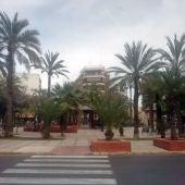 Plaza de Madrid de Elche.