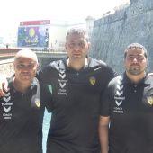 Fundadores del Club Baloncesto Juventud de Ceuta.