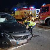 Accidente en Gran Alacant de Santa Pola.