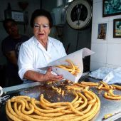 Charo Salguero, 'la de los churros'