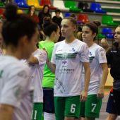 Las jugadoras del Clínica Blasco Joventut d'Elx tendrá que disputar el playoff a Primera en Zaragoza contra el Caldes, en semifinales, y el Intersala Promesas, en caso de vencer el primer duelo.