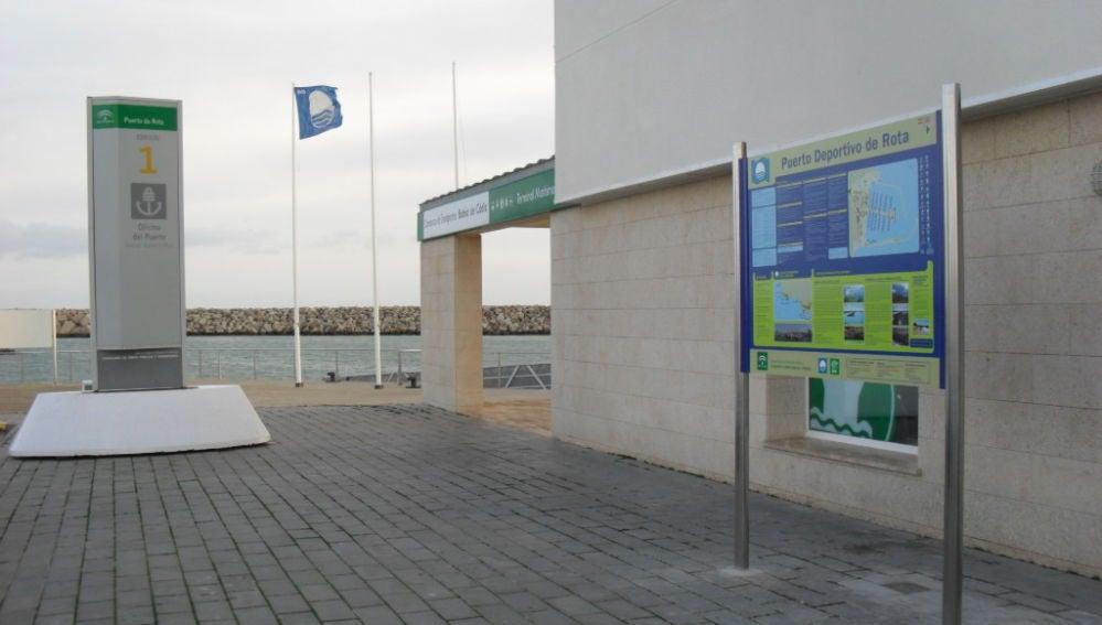 Puerto de Rota, en Cádiz