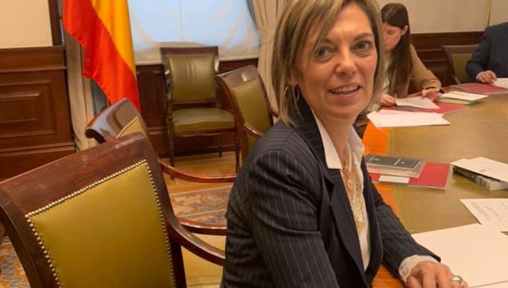 """Milagros Marcos: """"Cada vez que el PSOE negocia en Europa, los agricultores pierden"""""""