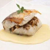 Cocina abierta de Karlos Arguiñano: Merluza rellena de setas y pistachos (Programa 1977)