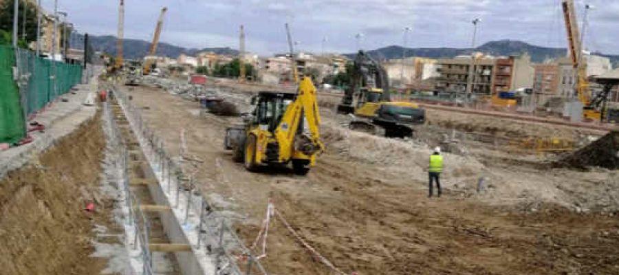 Obras soterramiento Murcia