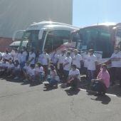 La manifestación ha comenzado en el Quijote Arena