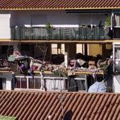 REEMPLAZO   Una mujer muerta y un herido en una explosión en un edificio de Torre del Mar, Málaga