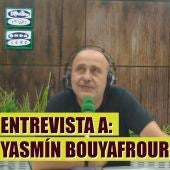 Yasmín Bouyafrouri, veterinaria de linces ibéricos