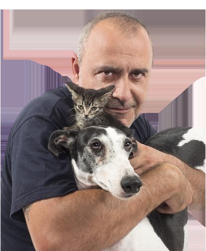 Presentadores del programa Como el perro y el gato
