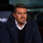 Óscar García, entrenador del RC Celta de Vigo