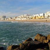 Playa de la Costilla, en Rota
