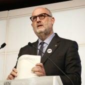Eduard Pujol, en una compareixença al Parlament
