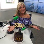 Julia Otero celebra los 3.000 programas de Julia en la onda