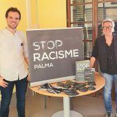 La concejala de Justicia Social, Feminismo y LGTBI, Sonia Vivas, presenta la campaña 'Stop Racisme'.