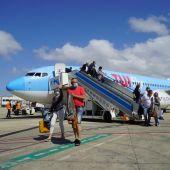 Llegada de turistas a Baleares a través del plan piloto para reactivar el turismo internacional.