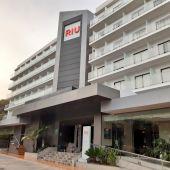 Uno de los hoteles Riu en Playa de Palma que ha recibido a los primeros turistas alemanes.