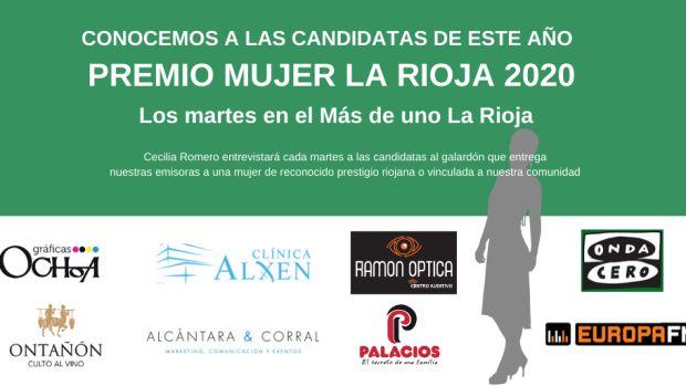 Cartel Premio Mujer La Rioja 2020
