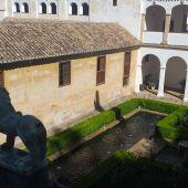La Alhambra a solas