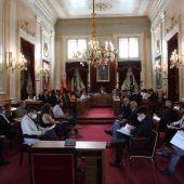 Pleno en el Ayuntamiento de Alcalá