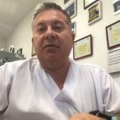 Julián Domínguez,  jefe del servicio de Medicina Preventiva del HUCE.