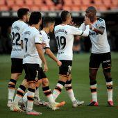 El Valencia logra la victoria ante Osasuna