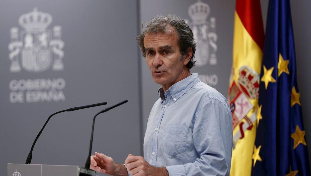 El director del CCAES, Fernando Simón