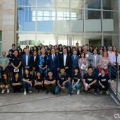 Acto de bienvenida a los alumnos del programa de español para extranjeros durante el curso pasado en la Escuela Politécnica