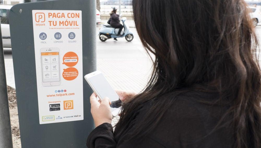 Parquímetros en Cádiz
