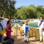 Instantes de la presentación de la nueva campaña turística de Jerez