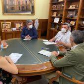Reunión en el Ayuntamiento de Crevillent.