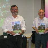 El presidente ejecutivo de Projecte Home Baleares, Jesús Mullor, y el presidente de las tres fundaciones que dan soporte a PHB, Bartomeu Català.