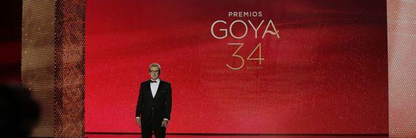 Mariano Barroso, presidente de la Academia de Cine, en la gala de los Goya 2020