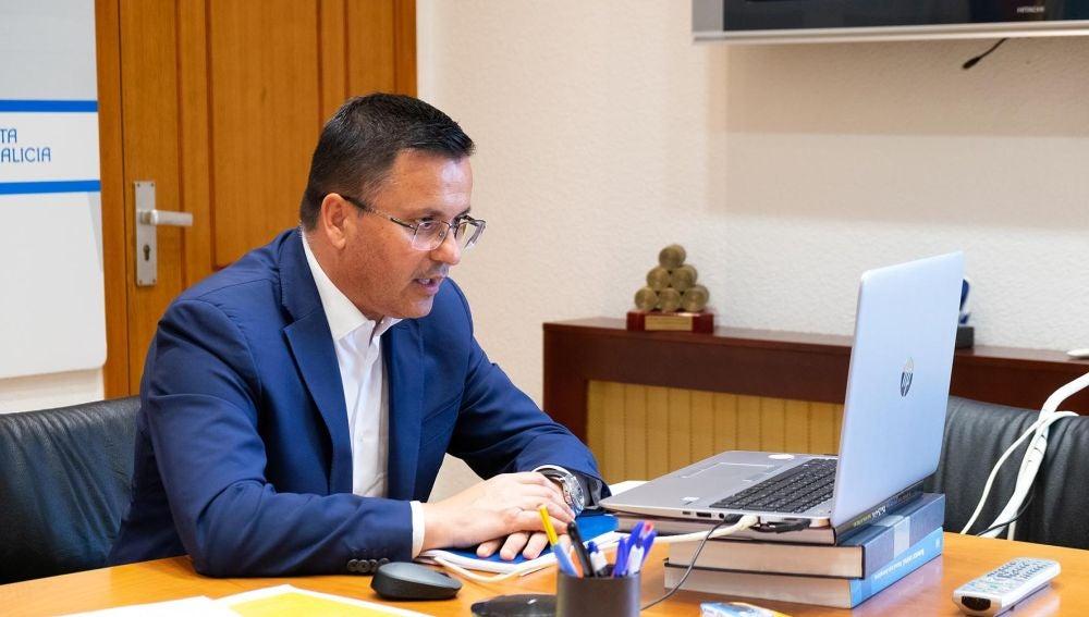 Jose Gonzalez conselleiro de Medio Rural