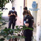 Imagen de la operación facilitada por la Policía.