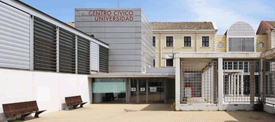 El centro cívico Universidad de Zaragoza.
