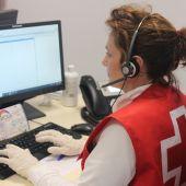 Asistencia telefónica Cruz Roja